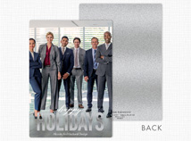 Happy Days Flat Holiday Photo Cards